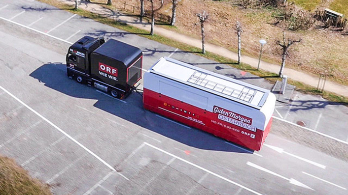 "Broadcast Solutions Delivers SNG to Austrian Broadcaster remotion for ORF's Daily Show ""Guten Morgen Österreich"""
