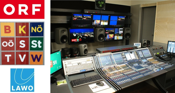 Austrian ORF upgrades all regional broadcast stations with Lawo