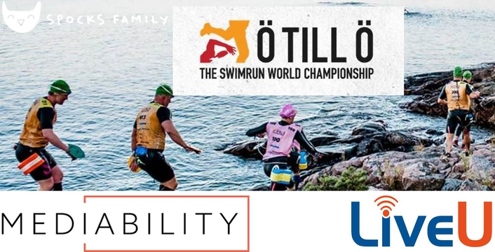 LiveU Deployed to Cover One of the World's Toughest Races - ÖTILLÖ Swimrun World Championship – from the Swedish Wilderness