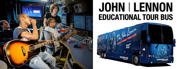 Mobile recording studio supports delivery of music education and programs across the United States