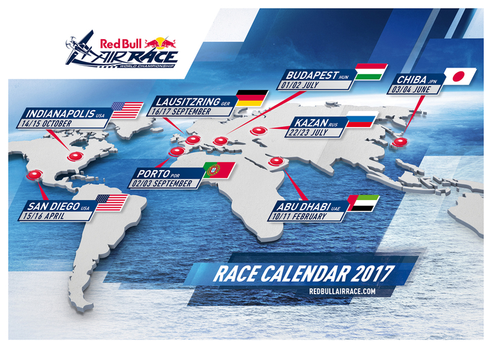 Returns to Portugal and Germany will complete 2017 Red Bull Air Race calendar