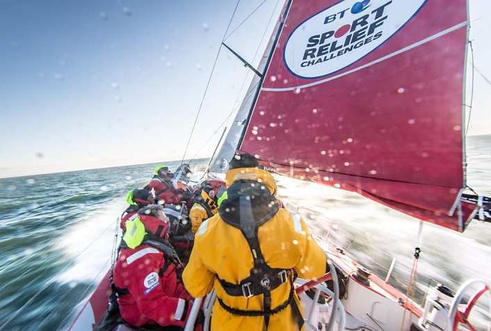 Connecting Sport Relief fundraisers on the high seas to the  BBC One Show using RazorLink® technology