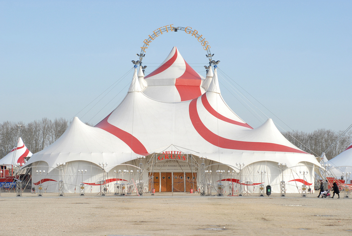 Robe BMFLs Specified for Arlette Gruss Circus