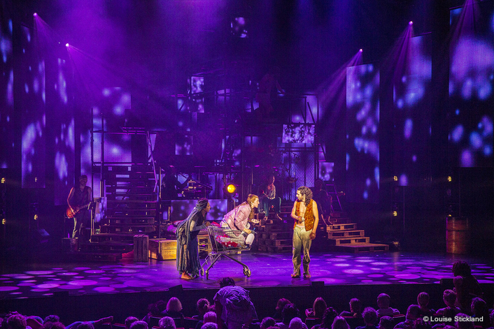 Leading Belgian design practice Painting with Light has supplied lighting and video design for the current Stage Entertainment tour of cult 1970s musical 'Hair' which is currently touring the Netherlands