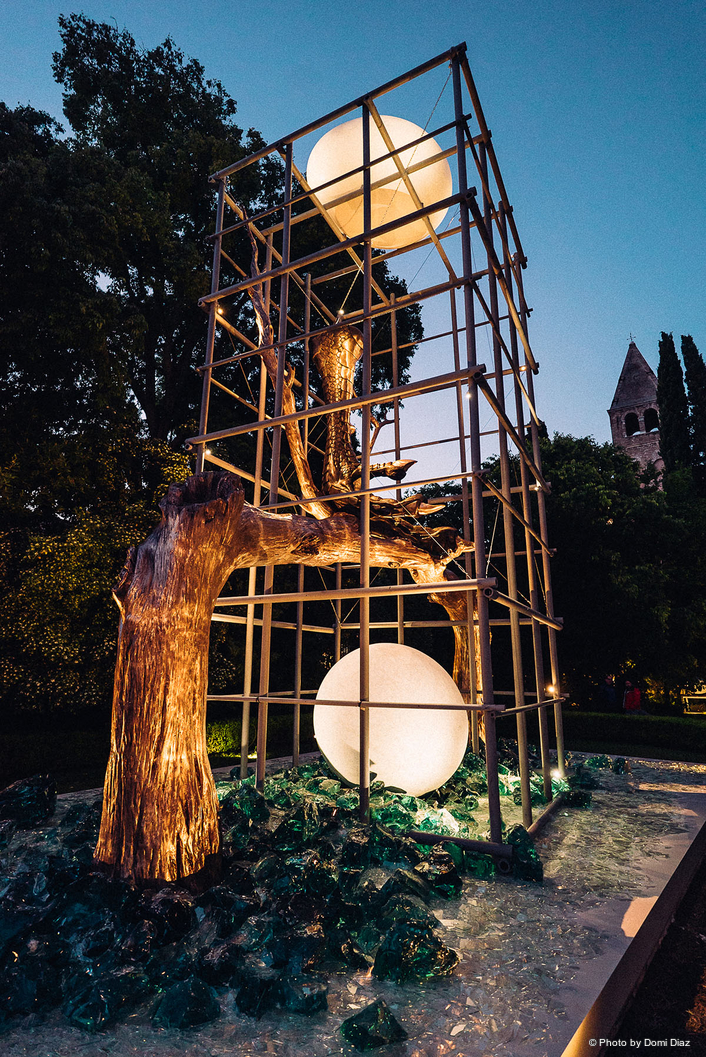 Lighting Protected Paradise at the  Venice Biennale