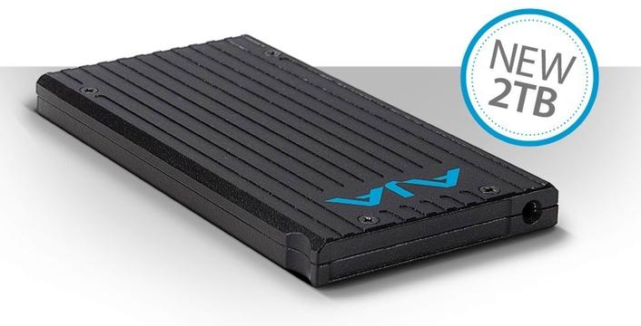 AJA Unveils New 2TB Pak 2000 SSD Recording Media