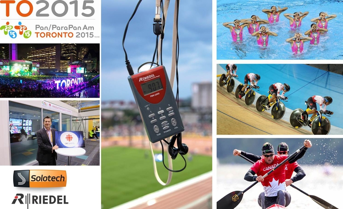 Riedel Takes on Multiple Roles at TORONTO 2015 Pan Am and Parapan Am Games