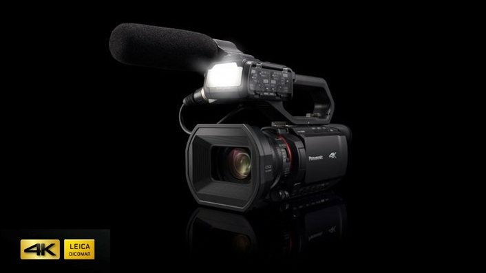 The AG-CX10 with high-spec optical performance and recording options, and IP connectivity for live streaming announced at CES 2020, Las Vegas