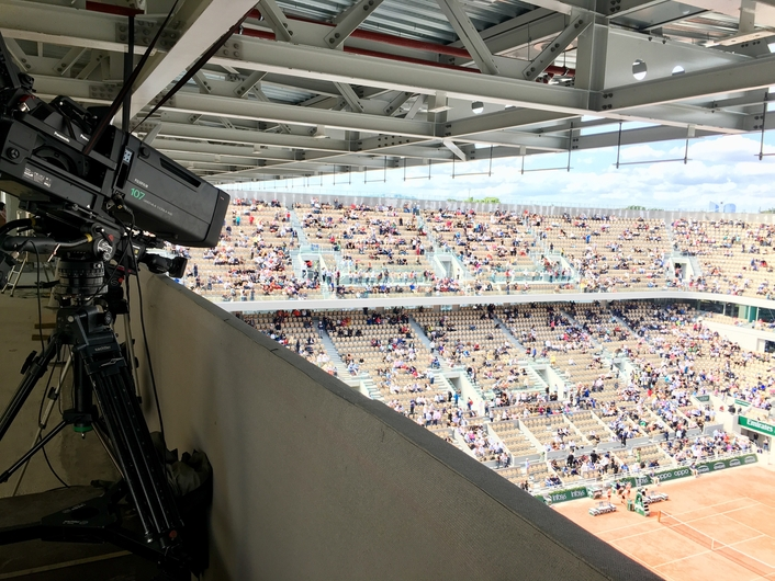 PANASONIC 4K CAMERAS BRING ROLAND GARROS TO INTERNATIONAL AUDIENCES