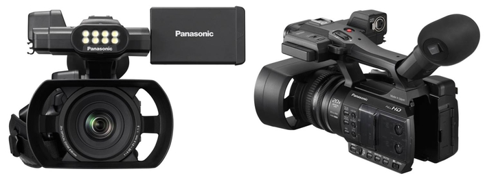 Panasonic announces feature rich entry level palm camcorder