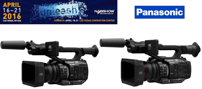 Panasonic expands 4K camera line up