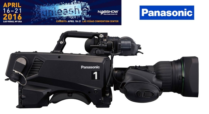 Panasonic strengthens studio camera line up at nab 2016 for Camera it web tv