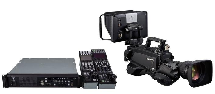 Panasonic strengthens studio camera line-up at NAB