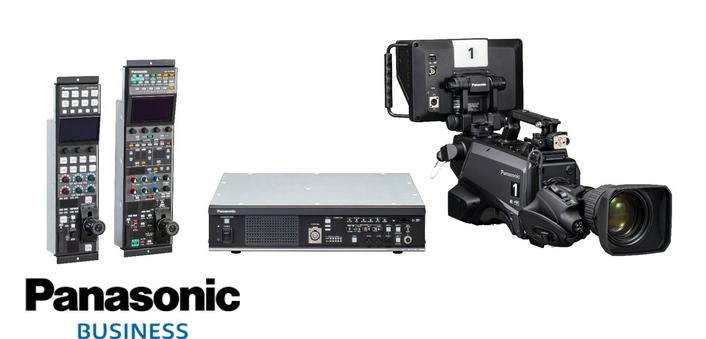 The Panasonic AK-UC3300 UHD studio camera system achieves resolution of 2,000 TV lines