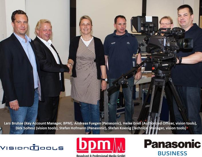 BPM sells first Panasonic 4K studio cameras to vision tools