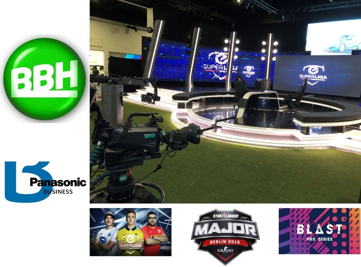 BBH drives broadcast quality experience for esports production with Panasonic live camera systems