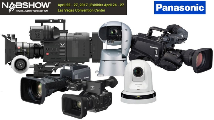 Panasonic boosts live production systems line-up at NAB