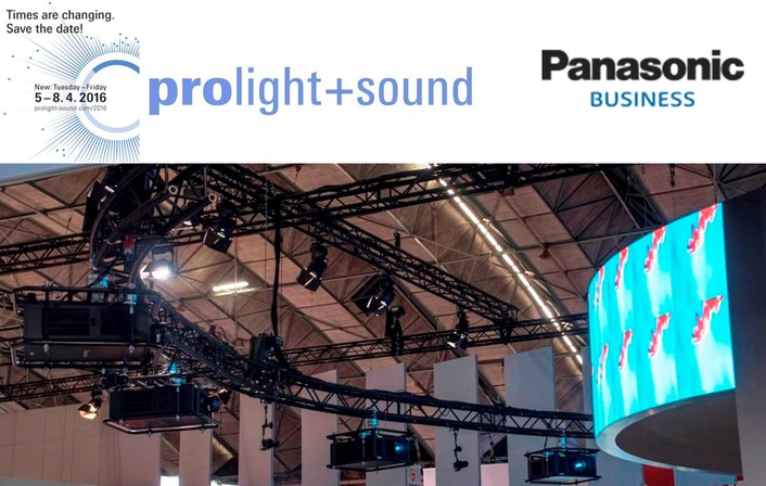 Panasonic to bring taste of Moscow to Prolight + Sound