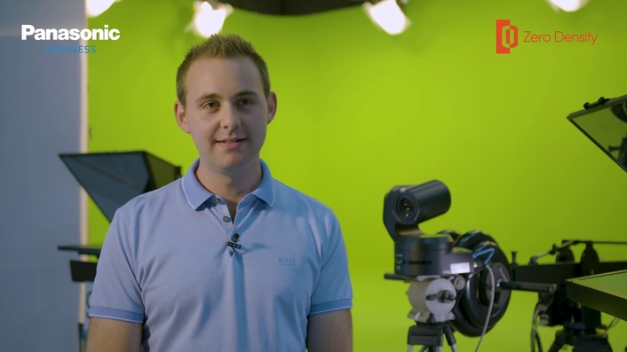 Panasonic & Zero Density Launch a Cost Effective Virtual Studio Production Solution For TV Stations