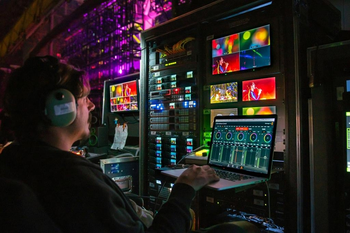 Blackmagic Studio Camera 4K used on Panic! At the Disco and Weezer Concert Tour