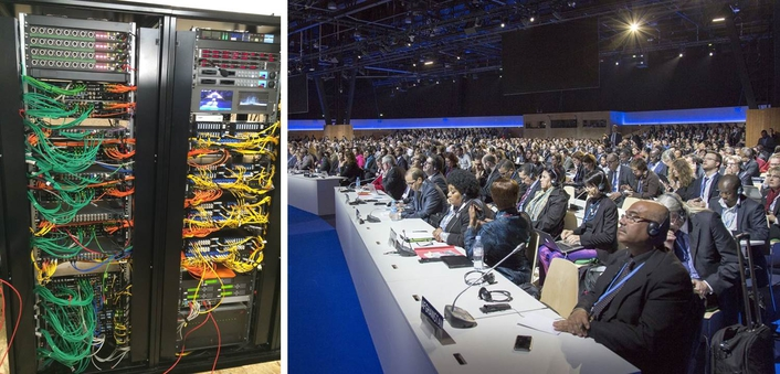 UN Climate Change Conference Relies on Riedel AV Infrastructure for Comms and Signal Distribution