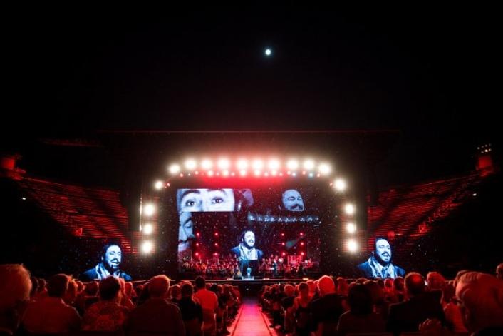 DiGiCo sextet at Pavarotti tribute show
