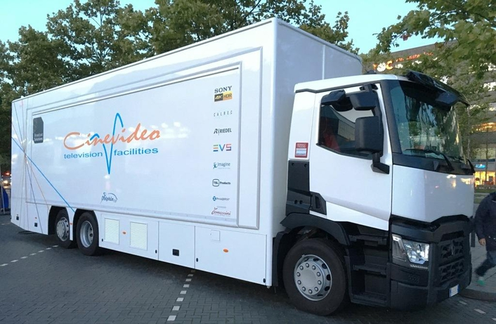 Cinevideo Equips 4K Truck With PHABRIX Qx 12G