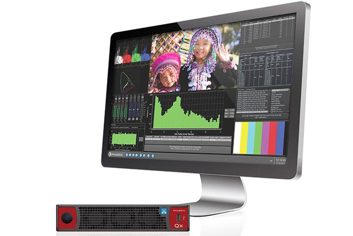 Sx TAG – Portable Hybrid IP, SDI & Composite Generation, Analysis and Video/Audio Monitoring