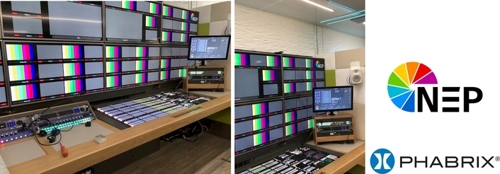 NEP UK selects PHABRIX IP-enabled test and measurement solutions for its first SMPTE ST 2110 OB trucks