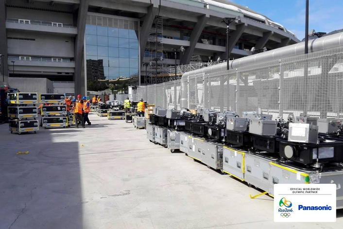 PANASONIC DELIVERS WIDE RANGE OF AUDIO-VISUAL SOLUTIONS AND EQUIPMENT FOR STAGING THE RIO 2016 OLYMPIC AND PARALYMPIC GAMES
