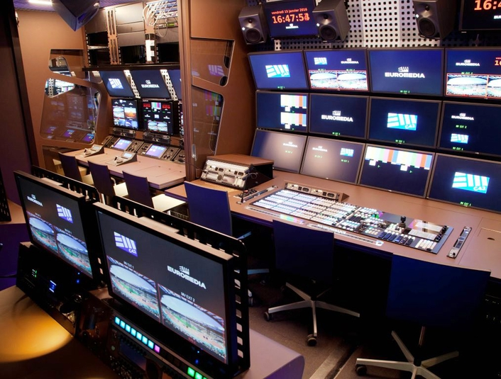 SAM's Kahuna, IQ Modular and Sirius products sit at the heart of EUROMEDIA's live broadcast workflow