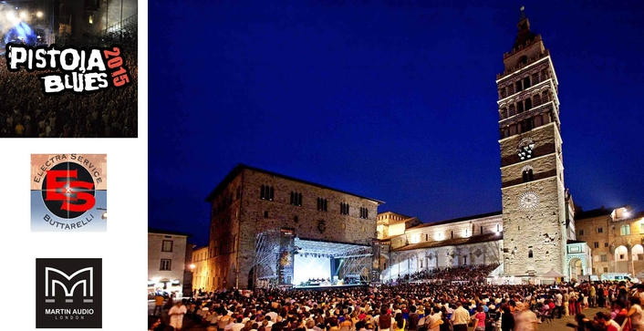 Supported by a Martin Audio PA, the 2015 edition again took place in the beautiful city's Piazza Duomoover the course of nine evenings