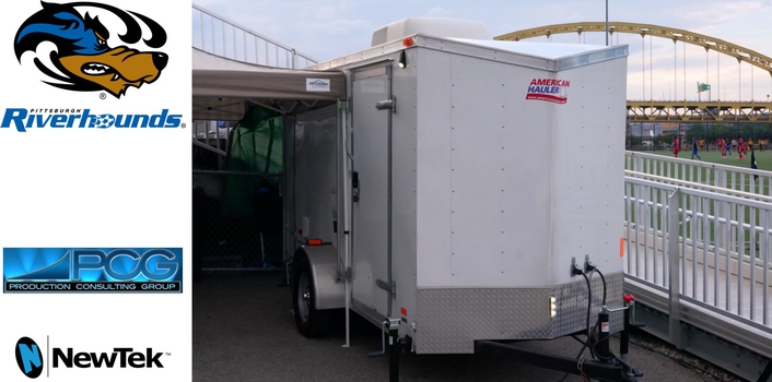 Vest-Pocket Live Sports Production Truck Packs Powerful Punch
