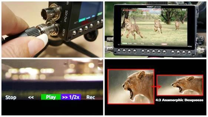 Adds 6G-SDI, Higher Frame Rate Recording, Enhanced Playback, and Anamorphic Desqueeze