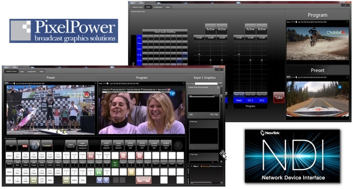 Pixel Power StreamMaster implements NewTek NDI® thanks to future-proof software defined architecture