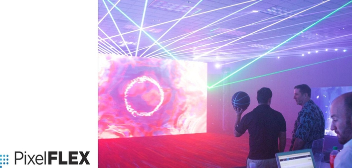 PixelFLEX AR-LED video gives LDI a true Augmented Reality experience