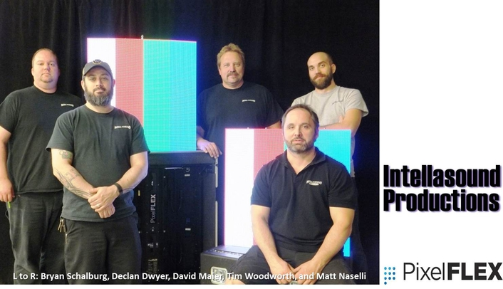 PixelFLEX announces Intellasound Productions as its newest rental partner