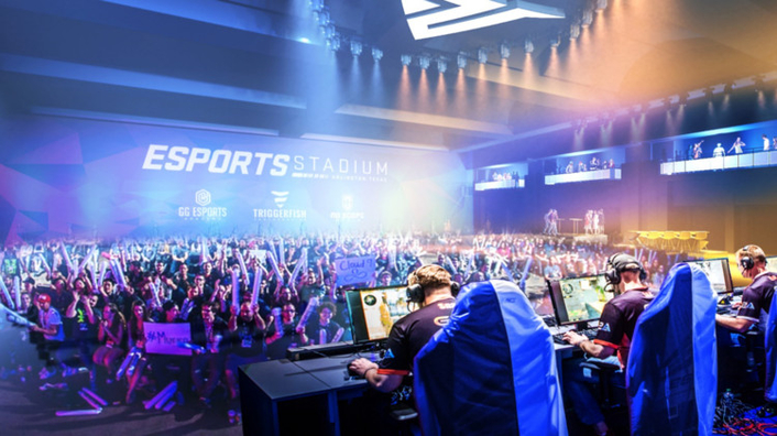 Grass Valley and Populous enable Esports Stadium Arlington Texas to deliver amazing experiences from camera to console