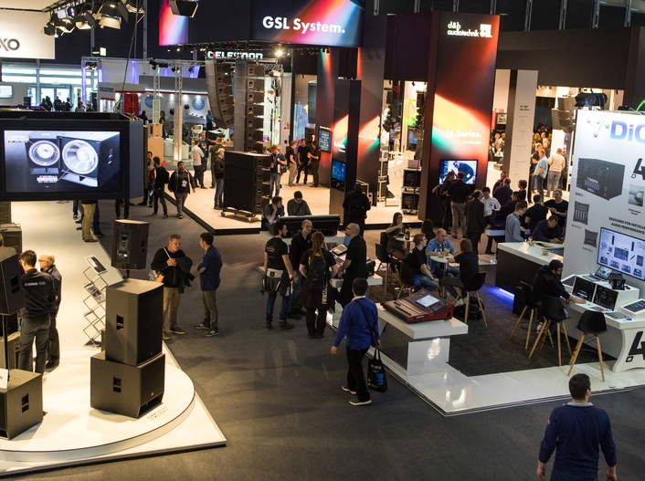 Hot spot for audio professionals: top brands and new programme highlights at Prolight + Sound and Musikmesse 2019
