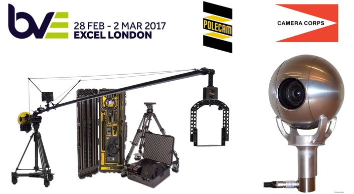 Polecam co-exhibits with Camera Corps and shows new products at BVE 2017