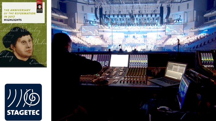 Pop-Oratorio goes on a live tour with Stage Tec equipment