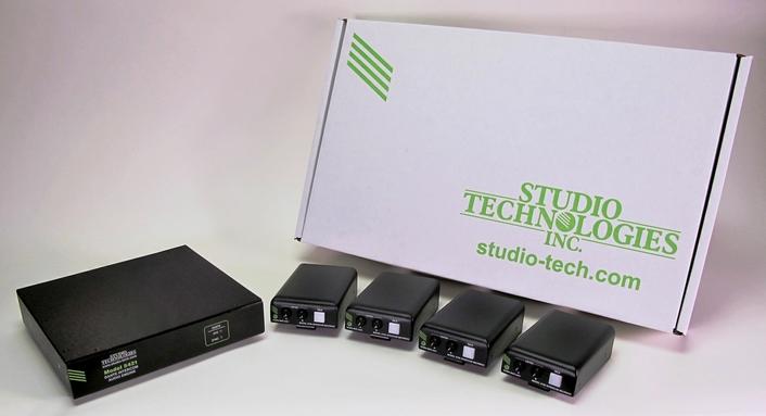 STUDIO TECHNOLOGIES RELEASES TWO NEW DANTE® INTERCOM KITS
