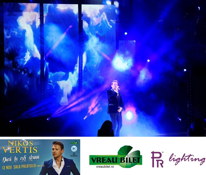PR LIGHTING HELPS PROJECT NIKOS VERTIS' SELL-OUT CONCERT