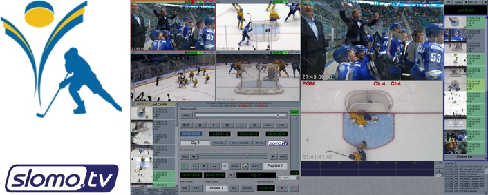Media Sport selects slomo.tv technology solution for Kazakhstan's President's Ice Hockey Cup 2017 in Astana Arena