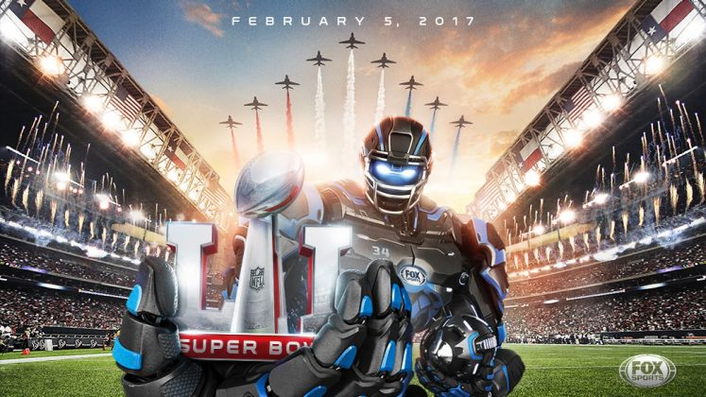 Viewers of Super Bowl LI will experience augmented reality graphics, in-game graphics and detailed analysis by Fox Sports using the latest tools from Vizrt