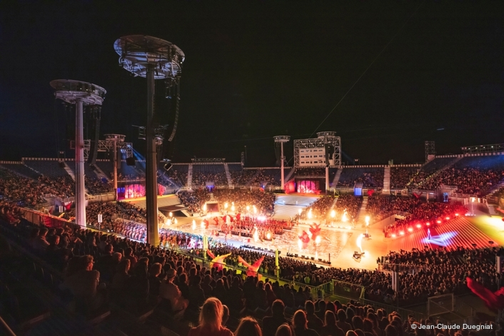 Wine, Wireless and Song: Eleven Networked Yamaha Digital Mixing Systems Ensure 'Once A Generation' Swiss Spectacular Enjoys A Vintage Year
