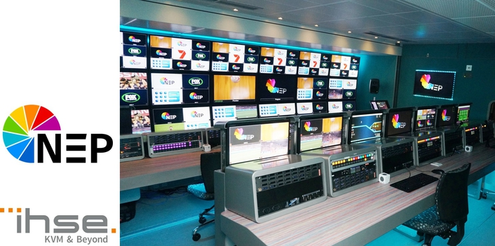 NEP equips Australia's first 4K OB trucks with advanced IHSE KVM system