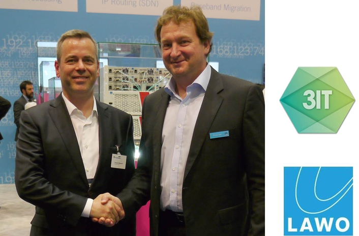 Lawo partners with 3IT – Innovation Center for Immersive Imaging Technologies of the Fraunhofer HHI