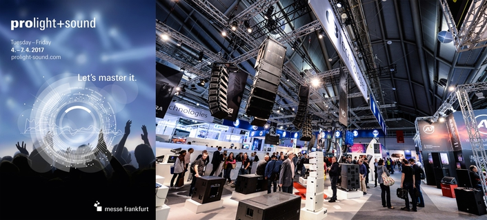 All important key players are represented at Prolight + Sound 2017