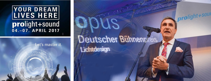 Prolight + Sound 2017: winners of Opus – German Stage Award announced